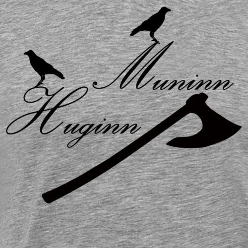 Huginn & Muninn - Men's Premium T-Shirt