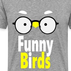 Funny Birds - Men's Premium T-Shirt