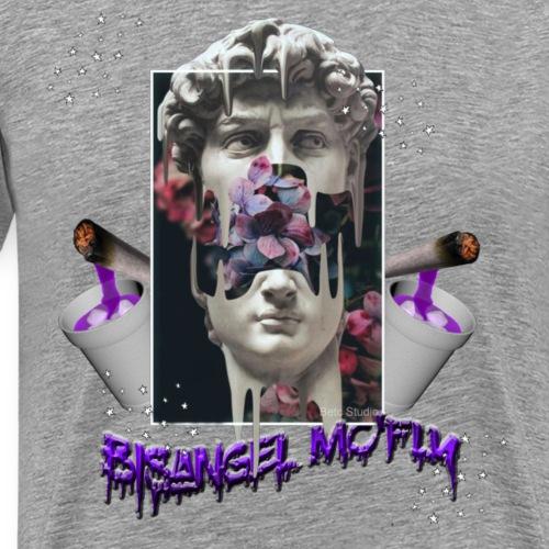 Griego Aesthetic Vaporwave Bisangel mc'fly - Men's Premium T-Shirt