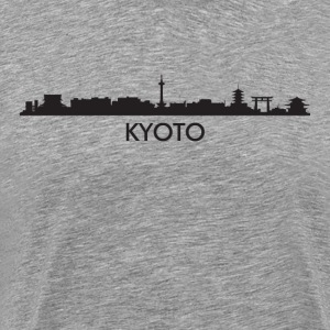 Kyoto Japan Skyline - Men's Premium T-Shirt