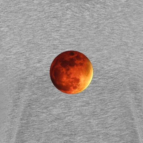 orange moon - Men's Premium T-Shirt