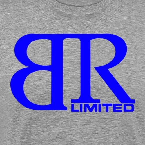 Big Remz Ltd. logo/Blue - Men's Premium T-Shirt