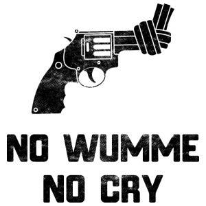 No wumme no cry - Men's Premium T-Shirt