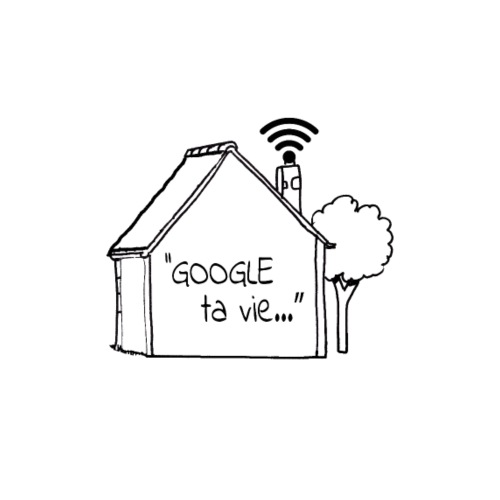 Google ta vie... - T-shirt premium pour hommes