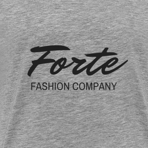 Forte Fashion Company Logo - Men's Premium T-Shirt