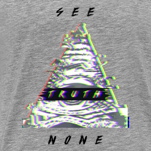 Non seeing eye - Men's Premium T-Shirt