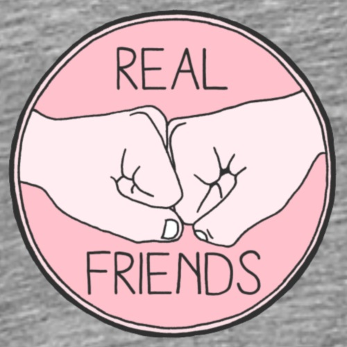 overlays real friends - Men's Premium T-Shirt