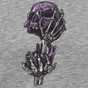 skull_in_hand - Men's Premium T-Shirt