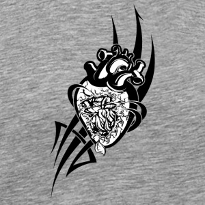 black_heart - Men's Premium T-Shirt