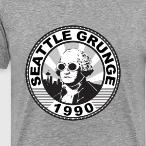 seattle grunge - Men's Premium T-Shirt