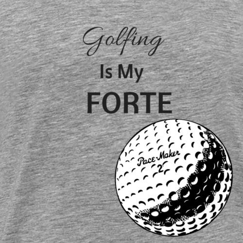 For The Love of Golf... - Men's Premium T-Shirt