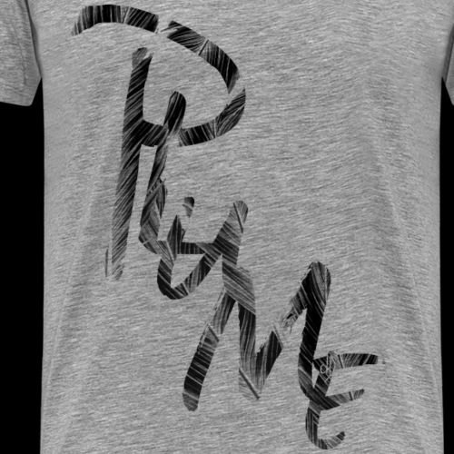 1704 dD Plume Noir IMPRIM 01 - Men's Premium T-Shirt