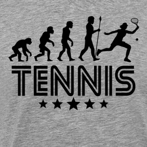 Retro Tennis Evolution - Men's Premium T-Shirt