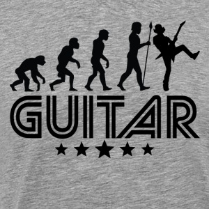 Retro Guitar Evolution - Men's Premium T-Shirt