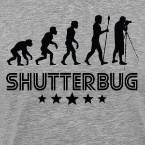 Retro Shutterbug Evolution - Men's Premium T-Shirt