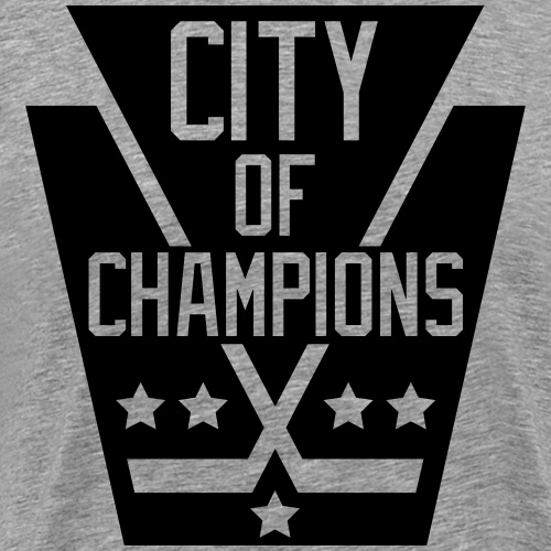 City of Champions - Black - Men's Premium T-Shirt