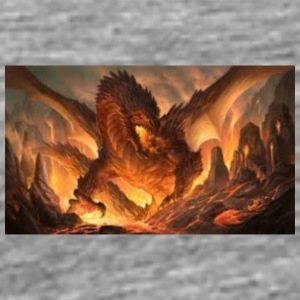 fire dragon - Men's Premium T-Shirt