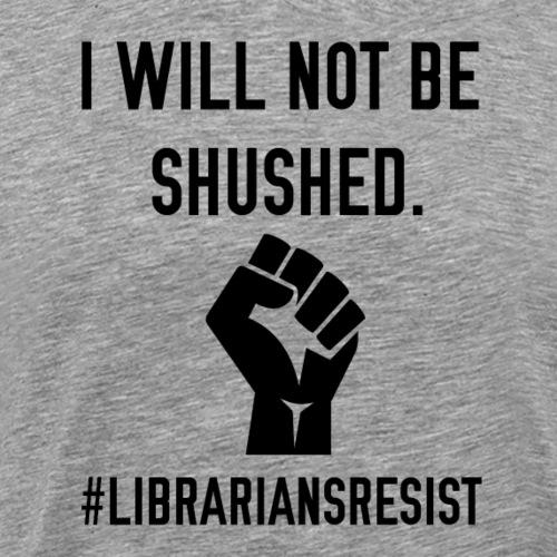 Librarians Resist - Men's Premium T-Shirt