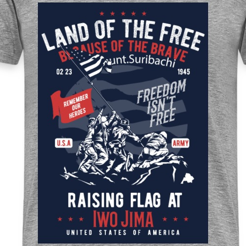 Land of the Free - Men's Premium T-Shirt