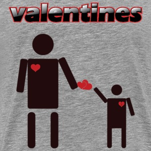Valentines products an Tshirt design - Men's Premium T-Shirt