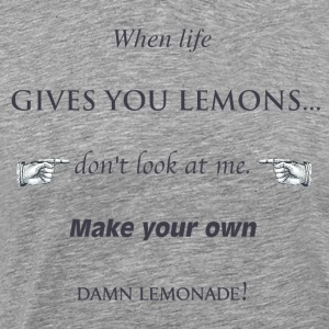 Lemonade - by Fanitsa Petrou - Men's Premium T-Shirt