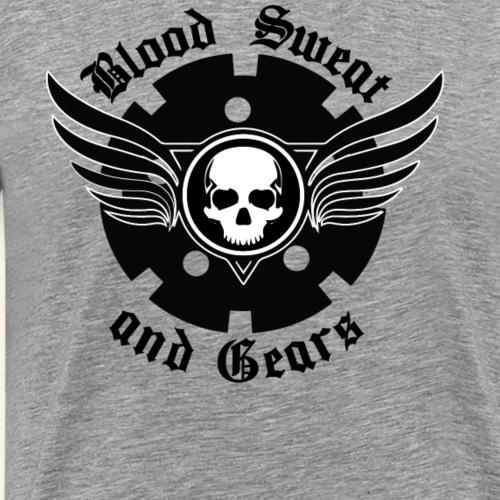 Blood Sweat and Gears - Men's Premium T-Shirt