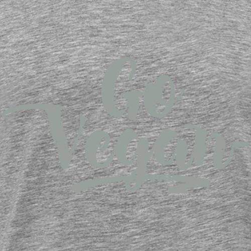 Go Vegan - Men's Premium T-Shirt