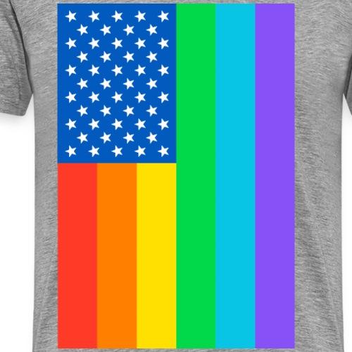 RAINBOW FLAG - Men's Premium T-Shirt