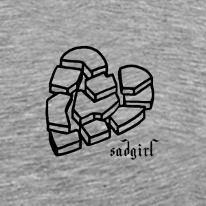 sadgirl - Men's Premium T-Shirt