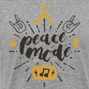 Peace Mode - Festival Shirt - Men's Premium T-Shirt