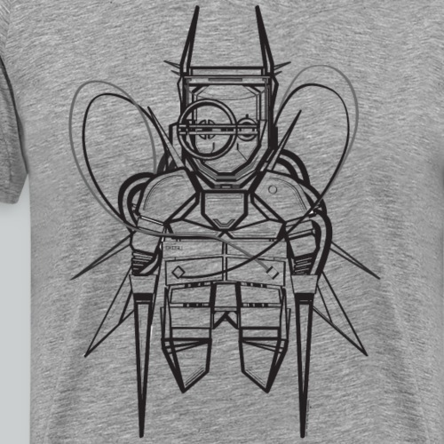 Black T-shirt design - Men's Premium T-Shirt