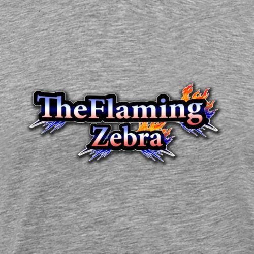 BIG TheFlamingZebra Logo - Men's Premium T-Shirt