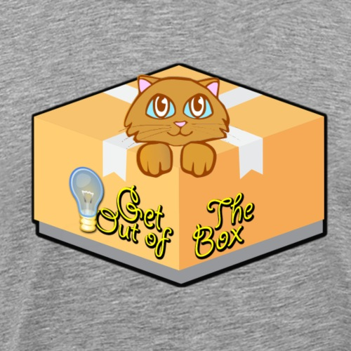 Get Out of The Box Meow T-shirt - Men's Premium T-Shirt