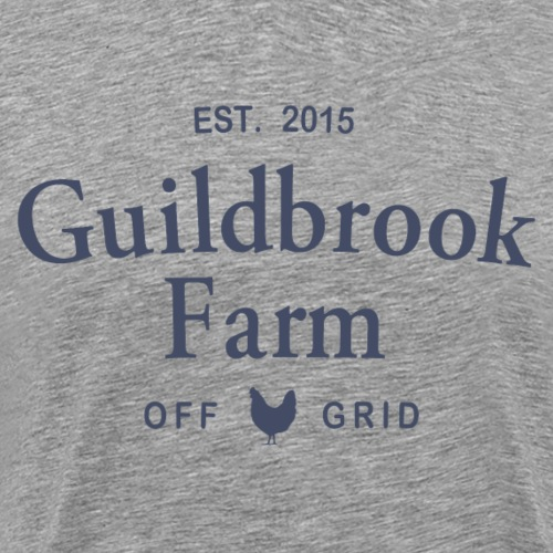 Guildbrook Farm Off Grid Hen - Men's Premium T-Shirt
