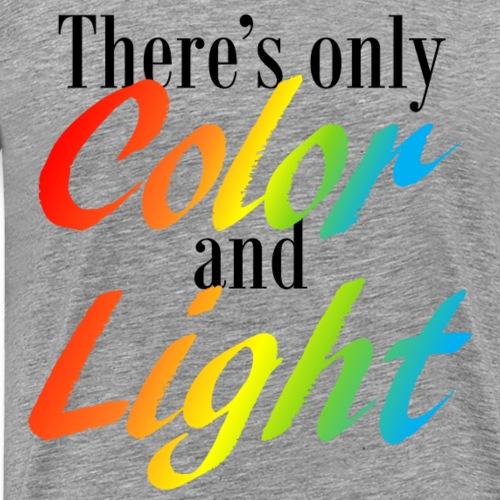 Color and Light (Dark) - Men's Premium T-Shirt