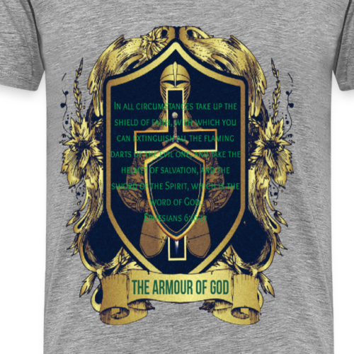 The Armour of God - Men's Premium T-Shirt