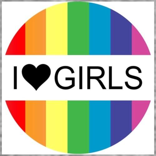 I heart Girls - Men's Premium T-Shirt
