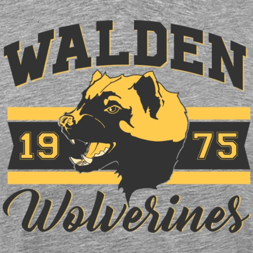 Walden Wolverines - 1975 - Men's Premium T-Shirt