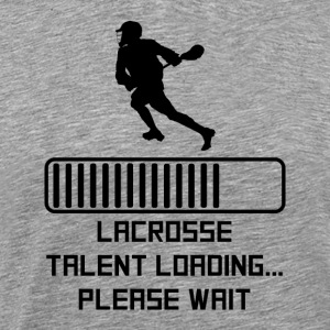 Lacrosse Talent Loading - Men's Premium T-Shirt