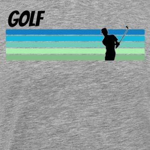 Retro Golf - Men's Premium T-Shirt