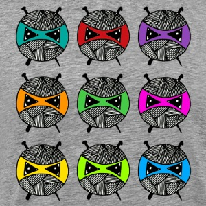 Rainbow Ninjas - Men's Premium T-Shirt