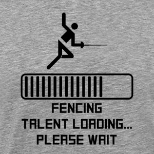 Fencing Talent Loading - Men's Premium T-Shirt