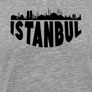 Istanbul Turkey Cityscape Skyline - Men's Premium T-Shirt
