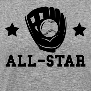 Softball All Star - Men's Premium T-Shirt