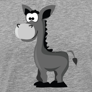 Cartoon Donkey - Men's Premium T-Shirt