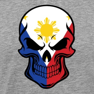 Filipino Flag Skull - Men's Premium T-Shirt