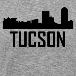 Tucson Arizona City Skyline - Men's Premium T-Shirt