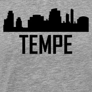 Tempe Arizona City Skyline - Men's Premium T-Shirt