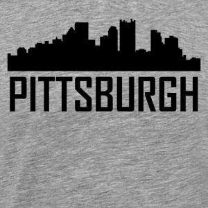 Pittsburgh Pennsylvania City Skyline - Men's Premium T-Shirt