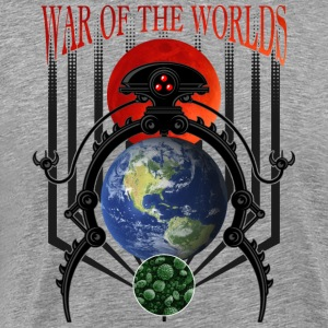 War of the Worlds Martian Spacecraft - Men's Premium T-Shirt